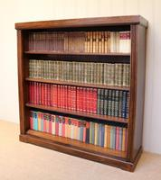 Oak Open Bookcase c.1920 (3 of 12)