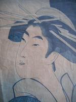 Utamaro Japanese Woodblock Print (3 of 4)