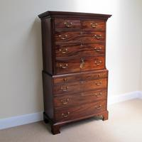 Mahogany Chest on Chest c.1780 (4 of 6)