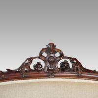 Victorian Walnut Love Seat (7 of 9)