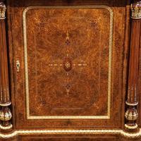 Fine Victorian Inlaid Walnut Credenza (2 of 15)