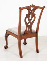Set of 8 Mahogany Chippendale Style Dining Chairs (15 of 17)