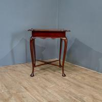 Edwardian Mahogany Occasional Table (7 of 7)