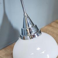 Pair of Art Deco Opaline Lights (3 of 7)