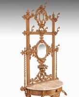 Elaborate Mid 19th Century Cast Iron Hall / Stick Stand (2 of 5)