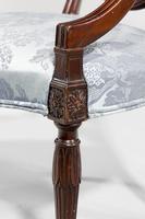 Set of Six Late 19th Century Hepplewhite Design Chairs (8 of 12)
