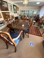 Mahogany Extending Victorian Dining Table (3 of 4)