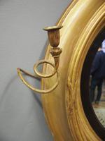 Large Regency Gilt Girandole Mirror (6 of 12)