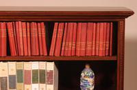 Mahogany Open Bookcase - England c.1900 (5 of 11)