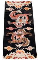 Antique Tibetan Dragon Rug (2 of 9)