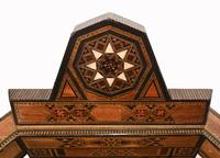 Pair of Damascan Chairs Inlay Arabic Syrian Interiors c.1920 (6 of 12)