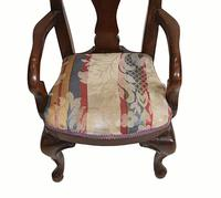 Set of Antique Child Chairs Chippendale Queen Anne (8 of 16)