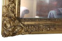 19th Century Large Quality Gilt Wall / Overmantle Mirror (5 of 7)