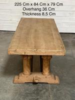 Extremely Rare Large Oak Refectory Table (28 of 35)