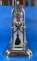 Edwardian Silver Plated Tantalus c.1905 (5 of 14)