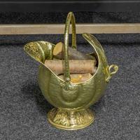 Late Victorian Brass Coal Helmet (14 of 14)