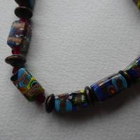 Venetian Glass Millefiore Bead Necklace (2 of 11)