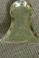 Set of Aesthetic Movement Brass Fire Irons Poker Tongs Shovel c.1880 (9 of 10)