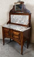 Edwardian Simulated Walnut Bedroom Suite (10 of 21)