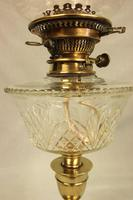 Antique Victorian Oil Lamp & Shade (8 of 12)