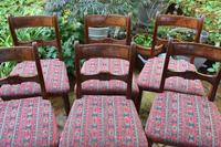 Good Set of Six Late Georgian Mahogany Dining Chairs (5 of 10)