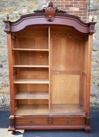 Large Antique French Walnut Armoire / Wardrobe (3 of 14)