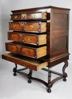 Late 17th Century Oak Chest on Stand (8 of 15)