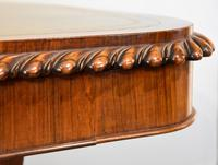 William IV Rosewood Writing Table (4 of 7)