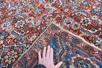 Antique Heriz square carpet 383x311cm (6 of 9)