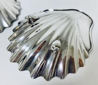 Pair of 18th Century Solid Silver Butter Dishes (10 of 13)