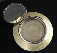 George V Silver & Enamel Compact (7 of 7)