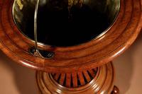 Dutch Hourglass Shaped Original Inlayed Mahogany Theestoof 'Tea Stove' Jardinière (6 of 7)