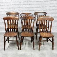 Harlequin Set of 6 Windsor Kitchen Chairs (2 of 5)