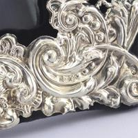 Pierced & Embossed Silver Photograph Frame by Broadway & Co 1906 (9 of 9)