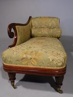 Attractive Mid 19th Century Rosewood Chaise Lounge by Gillows of Lancaster (5 of 9)