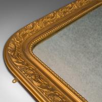 Antique Wall Mirror, English, Gilt Gesso, Neo Classical Revival, Victorian, 1900 (6 of 8)