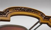 19th Century Continental Walnut Display Cabinet (2 of 6)