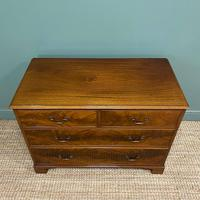 Quality Edwardian Flamed Mahogany Antique Chest of Drawers (4 of 5)