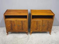 Pair of Mahogany Cabinets or Bedsides by Whytock & Reid (3 of 9)