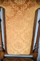 Victorian Walnut Occasional Chair (6 of 11)