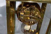 Slim French Four Glass Mantel Clock (4 of 6)