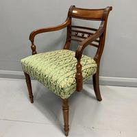 19th Century Regency Carver Armchair (3 of 5)