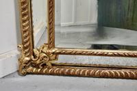 Stunning Napoleon III French Cushion Mirror (3 of 7)