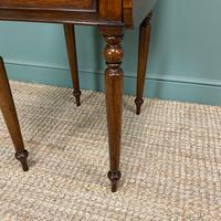 Rare Regency Rosewood Small Antique Pembroke Table (6 of 7)