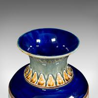 Antique Decorative Vase, English, Ceramic, Display, Art Nouveau, Edwardian, 1910 (8 of 12)