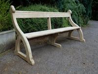 Pew Settle / Bench, Arts & Crafts