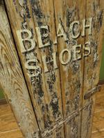 Rustic Painted Beach Shoes Cabinet, Boat House, Beach Hut Shabby Chic Cabinet (9 of 18)