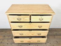 Antique Pine Chest of Drawers (3 of 10)