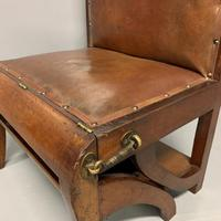 Set of Metamorphic Steps in Leather & Mahogany (8 of 9)
