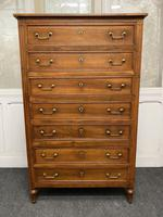 18th Century French Fruitwood Tall Chest of Drawers (2 of 18)